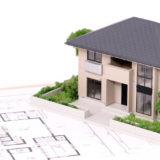 住宅と設計図