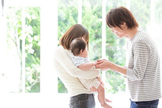 夫婦と子供