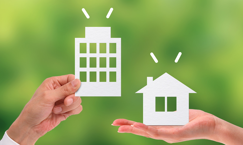 マンションと家の比較