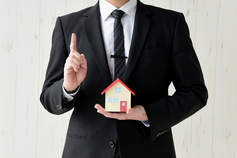 ハウスメーカーの営業マン